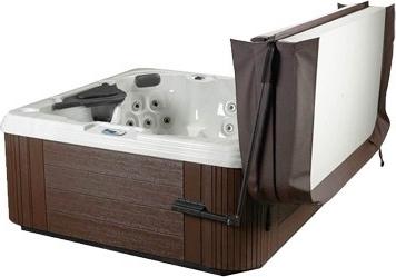 Ultralift Standard Hot Tub Cover Lifter illustration